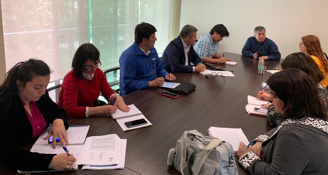 Equipo de Mesa Hídrica liderada por Alcalde Carlos Soto Gonzalez