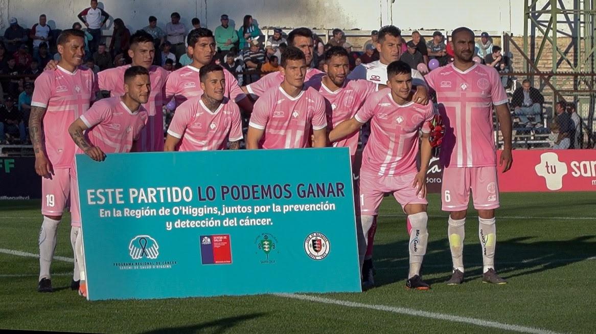 Futbolistas de la región se ponen la camiseta por la prevención del Cáncer 1