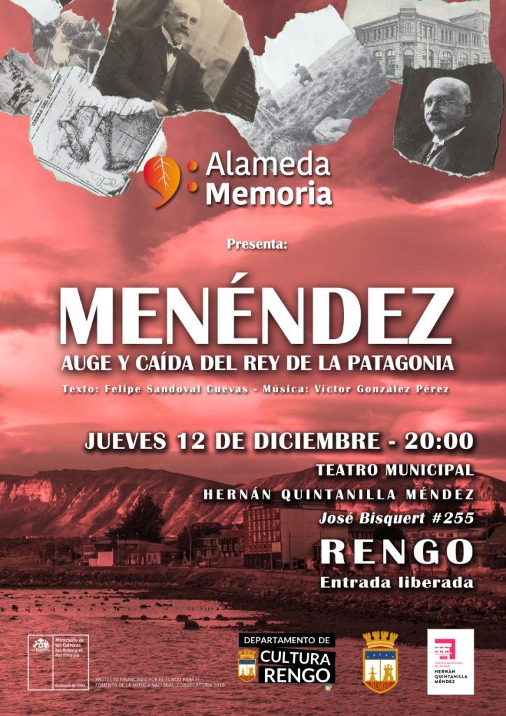 Afiche Menéndez_auge y caida del rey de la Patagonia