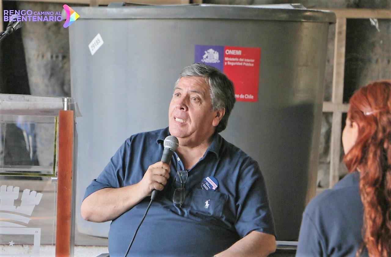 Alcalde de Rengo Carlos Soto Gonzalez