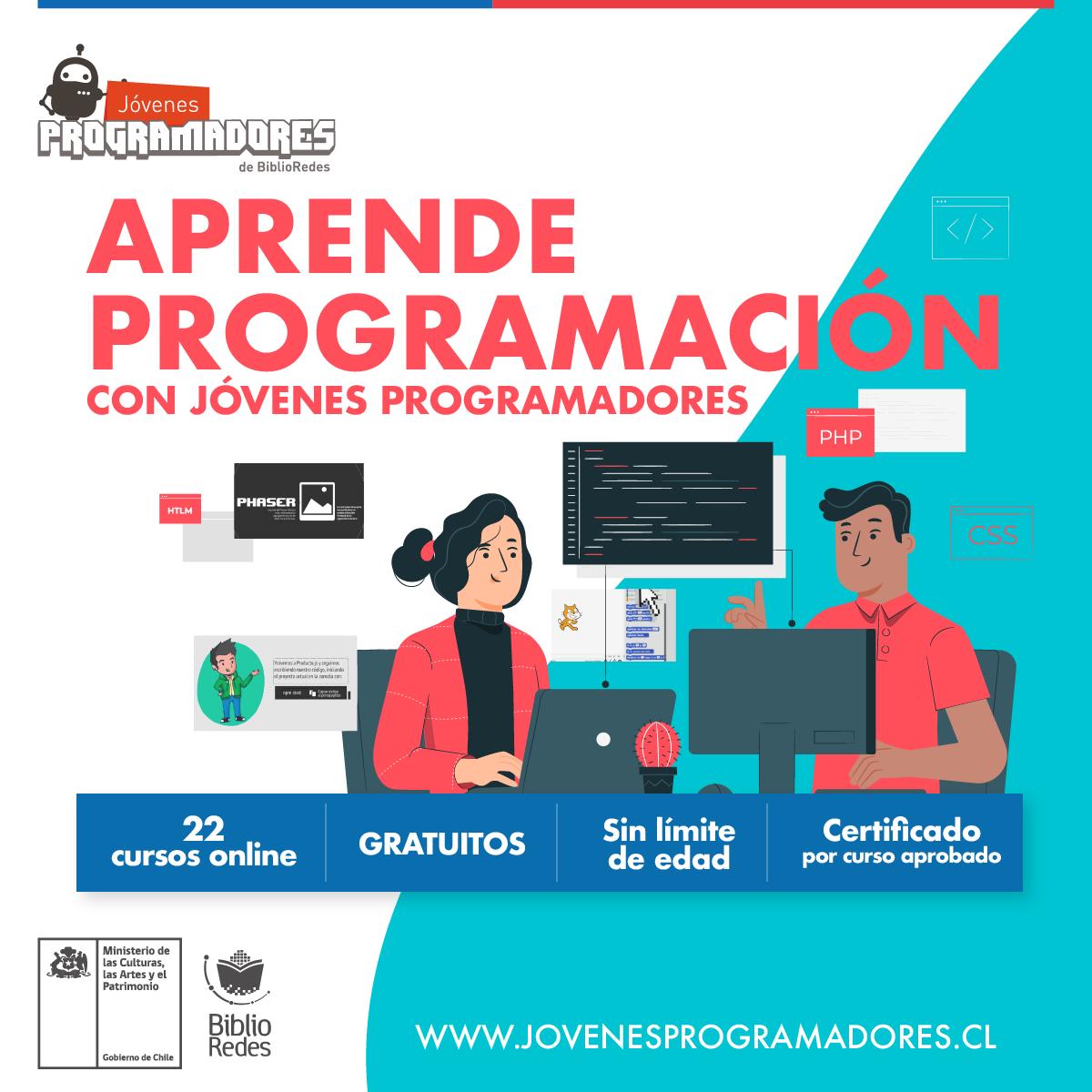 Biblioredes Ofrece 22 Cursos Gratuitos Y Online Para Aprender Programacion Rengo En La Noticia