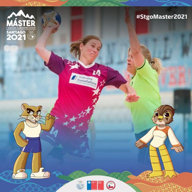Foto Balonmano en los I Juegos Suramericanos Santiago 2021