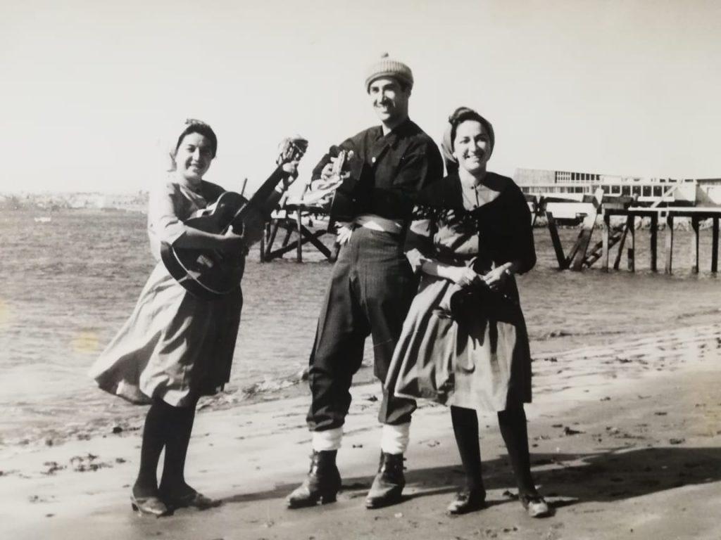 Izq. a derecha, Lucía Ramírez, Víctor Quinteros y Lutgarda Ramirez, los fundadores.