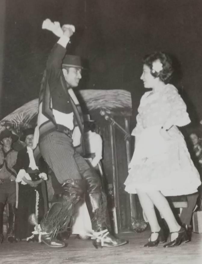 Primer Lugar Nacional Bailarín Individual, Lolo Quinteros_ y 4° Lugar Nacional en pareja con Lutgarda Ramírez